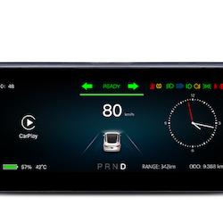 Model 3 & Y touch-skärm för instrumentpanel