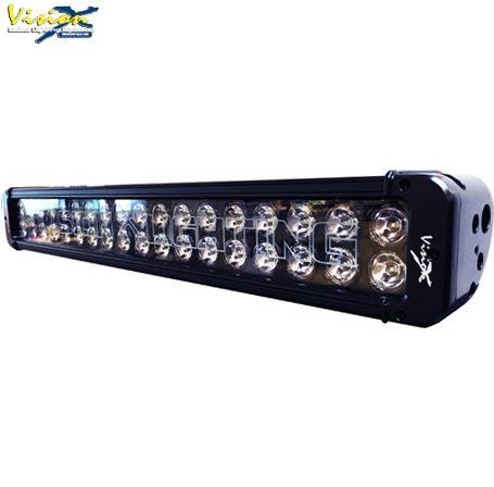 "VisionX LED Extraljusramp - XMITTER Black Edition 21"" 180W"