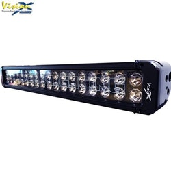 "VisionX LED Extraljusramp - XMITTER Black Edition 21"" 180W"