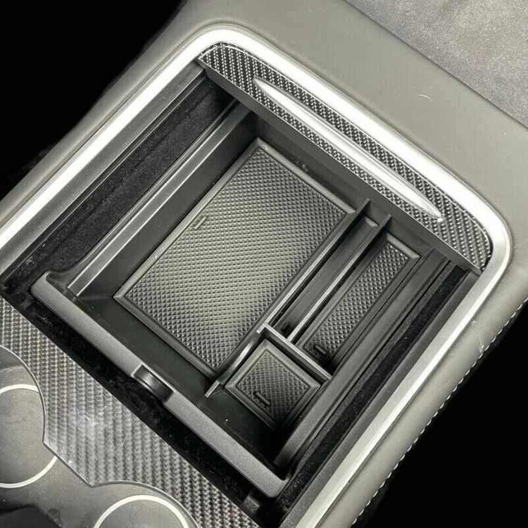 Model 3 facelift förvaringslåda gummi