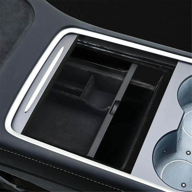 Model 3 facelift förvaringslåda tyg