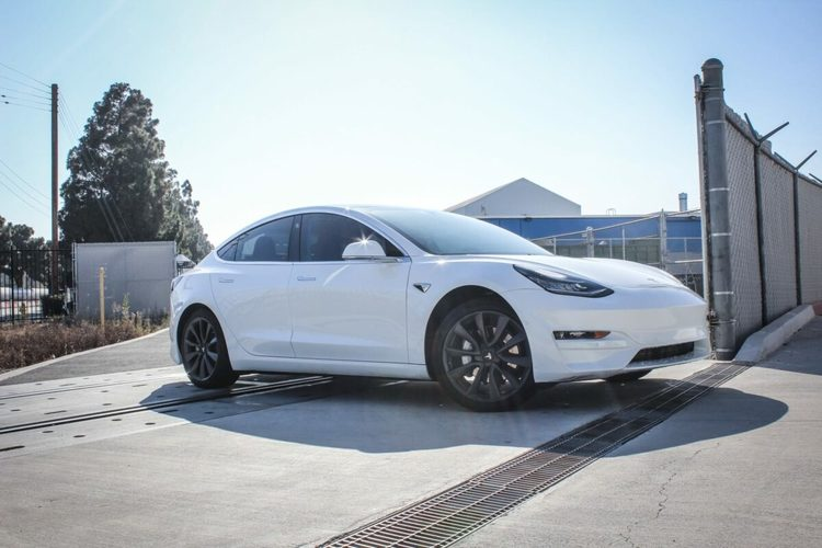 Unplugged Performance - Model 3 front fascia