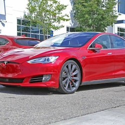 Unplugged Performance Model S front fascia