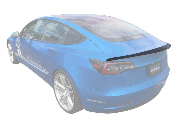 Unplugged Performance - Model 3 aerodynamisk spoiler