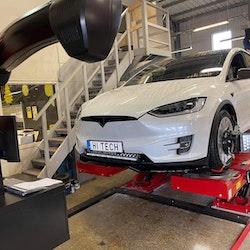 Tesla hjulinställning