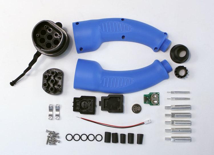 Laddningskontakt - Tesla knapp 16A/32A