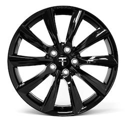 """T-sportline - Model 3 19"""" Turbine style (4 fälgar)"""