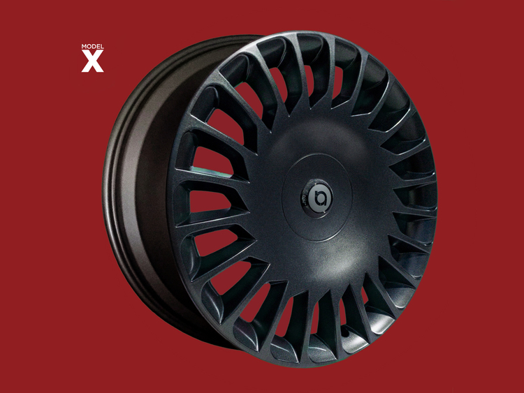 "The New Aero - Model X 22"" Razor Smooth Stealth"
