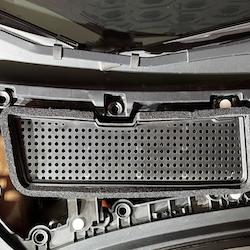 Model 3 luftfilter skydd facelift
