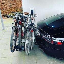 Model S dragkrok / cykelkrok