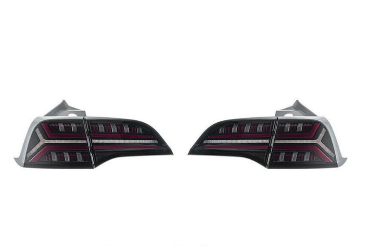 Model 3 bakre ledljus