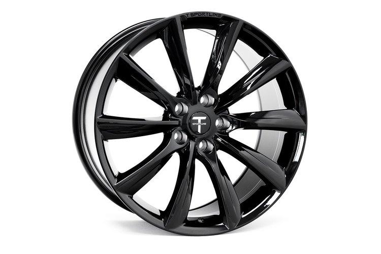 """T-sportline - Model S 20"""" Turbine style (4 fälgar)"""