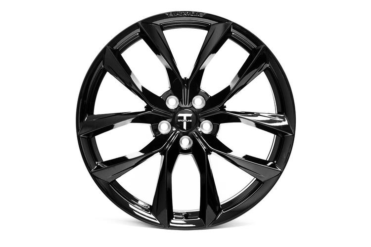 "T-sportline - Model X 20"" Arachnid style staggered (4 fälgar)"