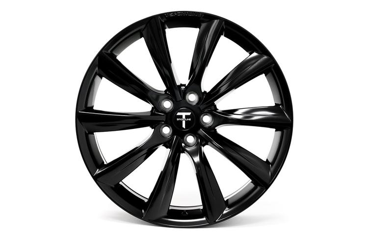 "T-sportline - Model X 20"" Turbine style staggered (4 fälgar)"
