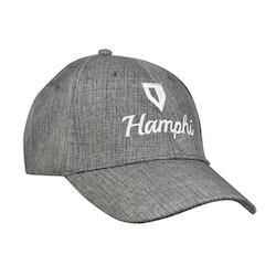 Hamphi keps svart/grå