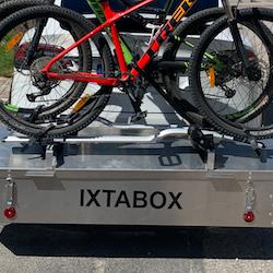 IXTAbox fäste för cyklar och annan utrustning