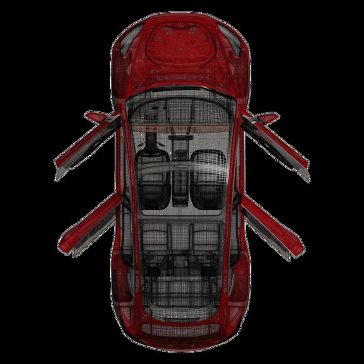 Model 3 soft close (4 dörrar)