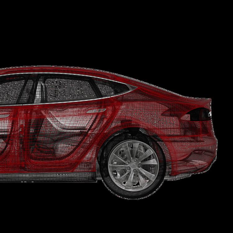 Model S fotsensor trunk