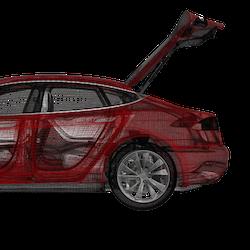 Model S eldriven trunk 2012-2016