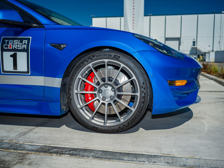 Unplugged Performance - Model 3/Y Performance UP x PFC 6 Front Piston Big brake kit