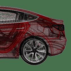 Model 3 fotsensor trunk 2021+