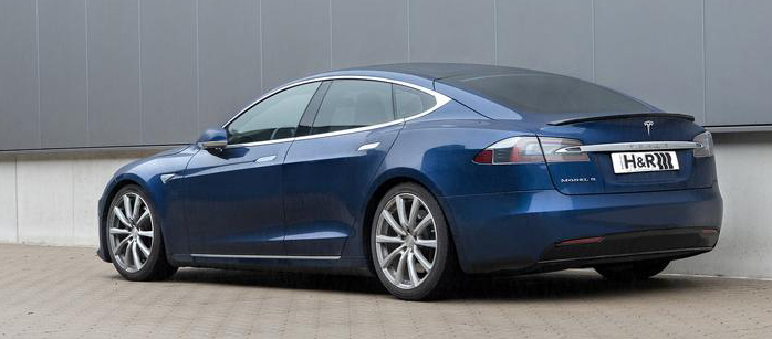H&R Model S sänkningsfjädrar AWD