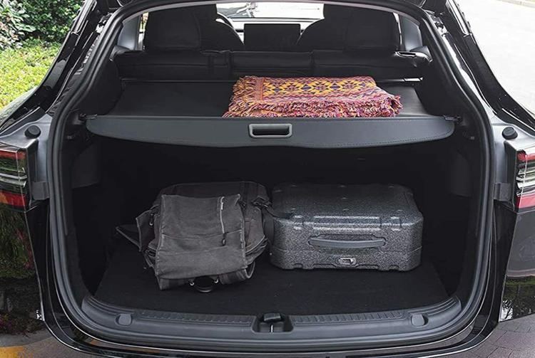 Model Y insynsskydd bagage