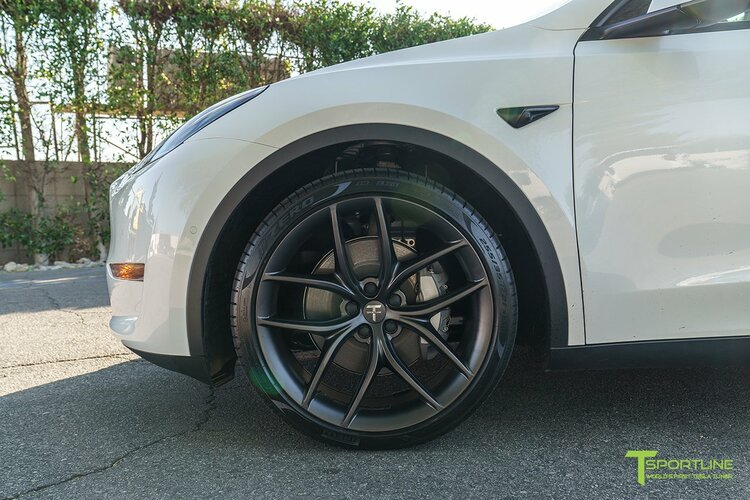"""T-sportline - Model Y 21"""" Zero-G style (4 fälgar)"""