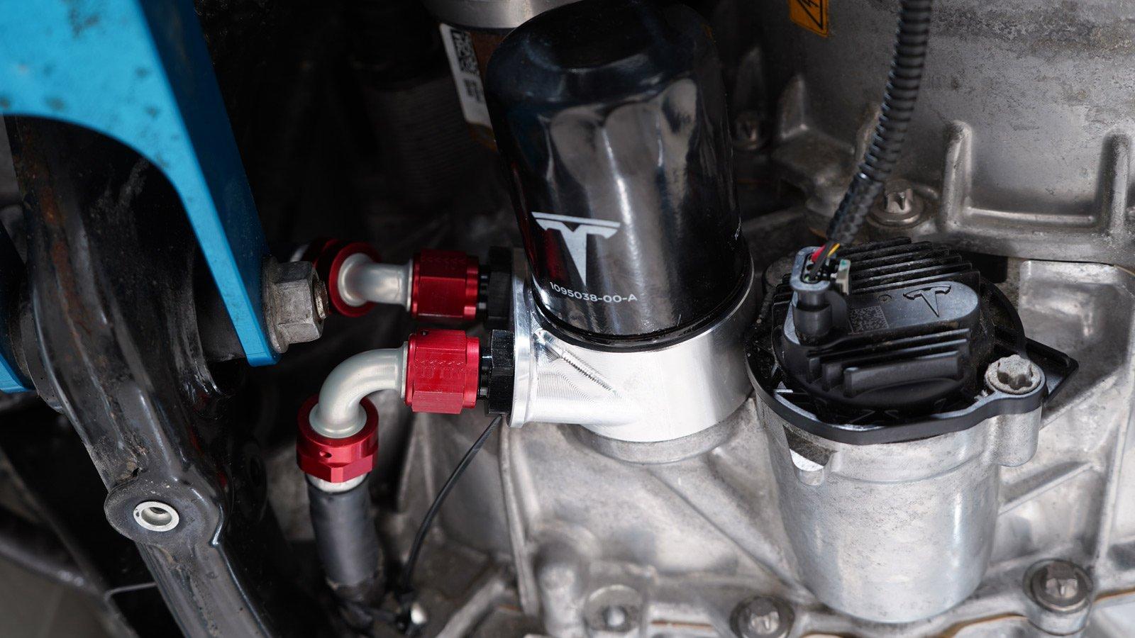 Mountain Pass Performance - Model 3 kylning för bakre drivlina