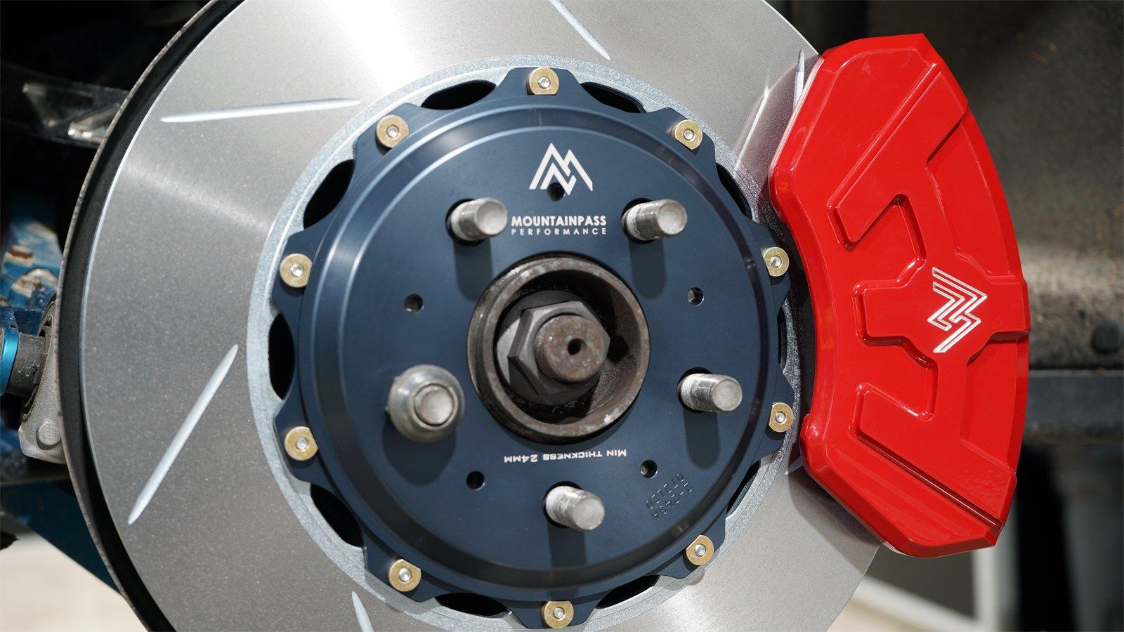 Mountain Pass Performance - Model 3/Y performance bakre bromskit