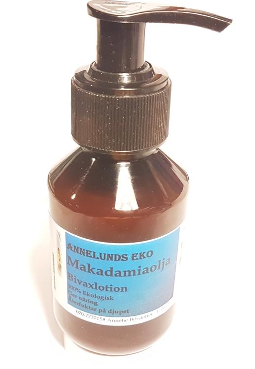 Macadamiaolja lotion återfuktar torr hud