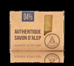 Aleppo tvål 4% lagerbärsolja