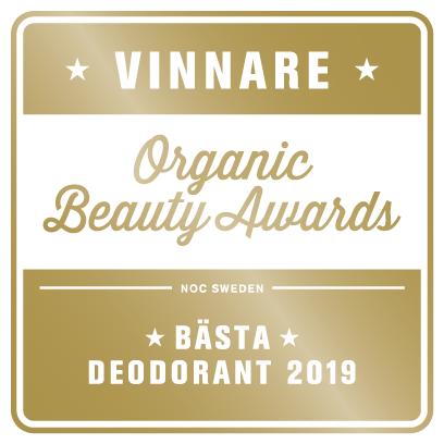 Naturlig Deo - ekologisk deodorant cream 15ml - Grapefrukt