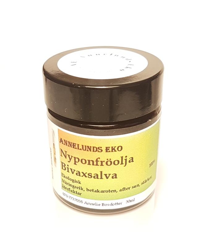 Nyponfröolja Bivaxsalva 30ml