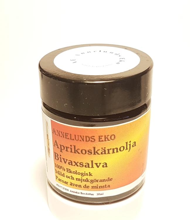 Aprikoskärnolja Bivaxsalva 30ml
