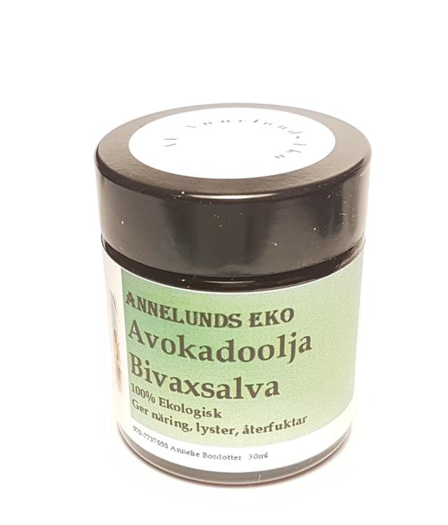 Avokadoolja Bivaxsalva 60ml