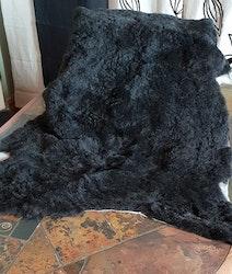 Lammfäll svart, grå