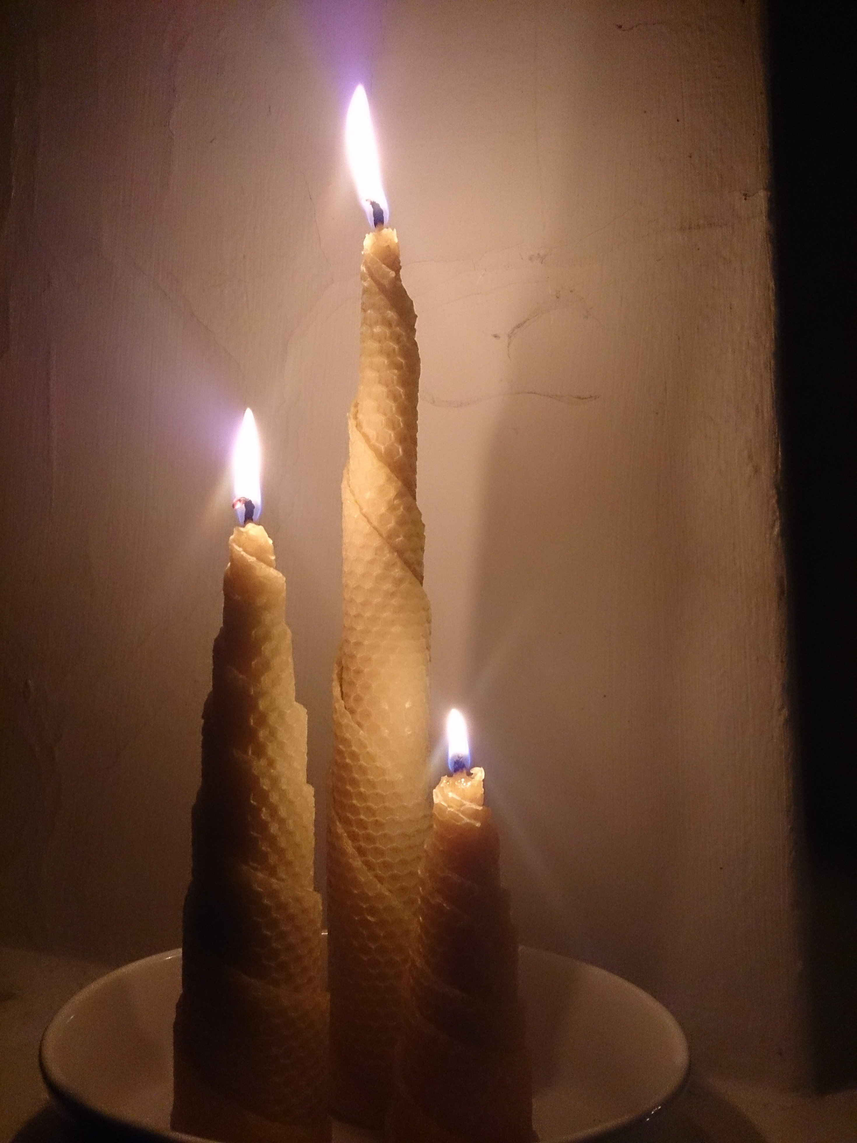 Gilleljus spiral höjd ca 20cm brinntid ca 12 timmar