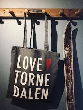 Tygkasse/Canvas bag Love Tornedalen.