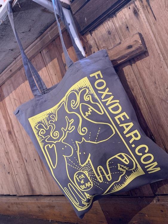 Fox n' Dear Tygkasse/cotton bag