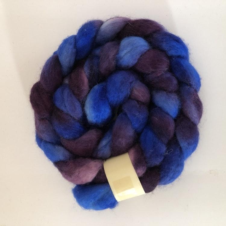 Blue faced leichter färgade topsband 100 g.