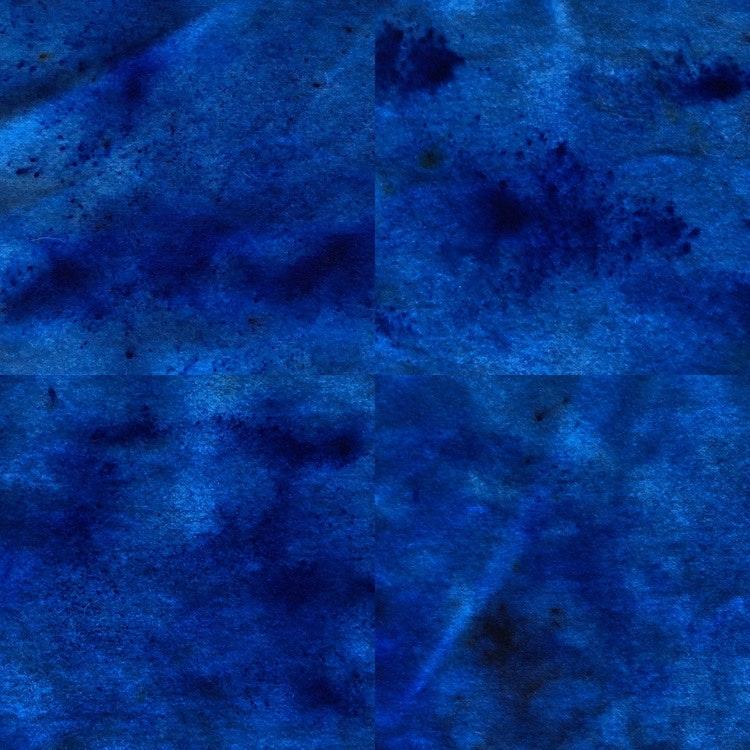 Handfärgad vadmal flera färger25•23 cm