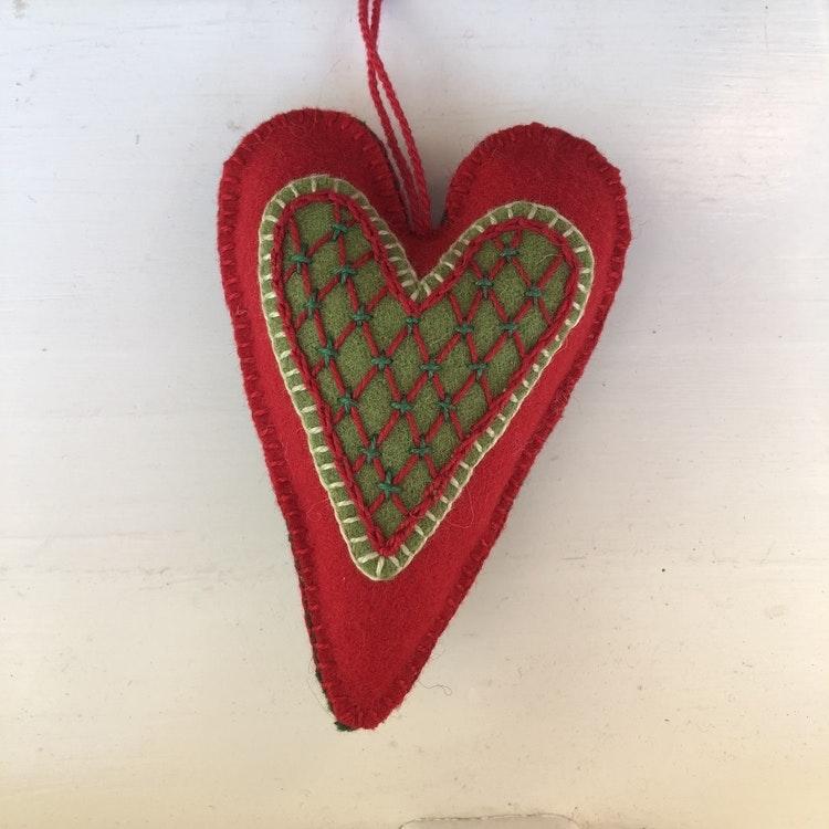 Hjärtan i ull, materialsats