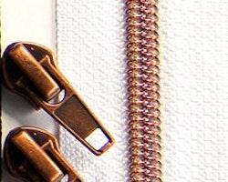 Dragkedja Nr 5  Metallnylon Typ A