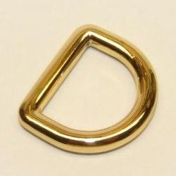 D-ring 20 mm - 3/4 inch Helgjutna