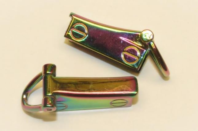 Side clip med D-ring