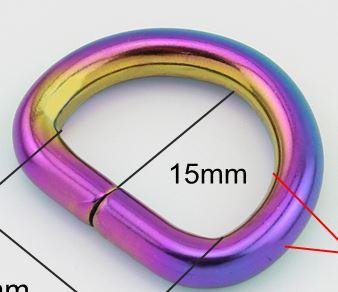 D-ring 20 mm - 3/4 inch