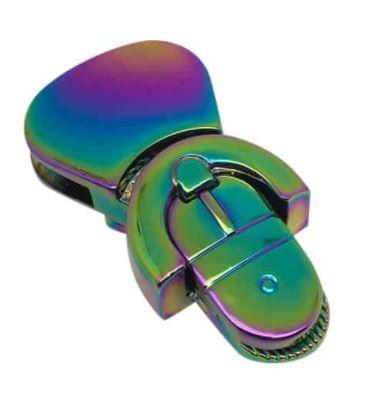 Belttip purse lock