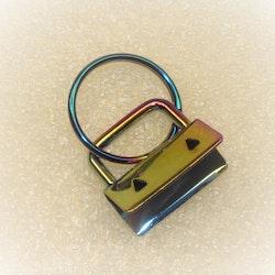 Nyckelring med remfäste / Key fobs