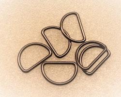 D-ring 10 mm tunn